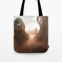 nightmare Tote Bags featuring Nightmare by Teodor Borisov
