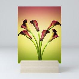 flowers forever Mini Art Print