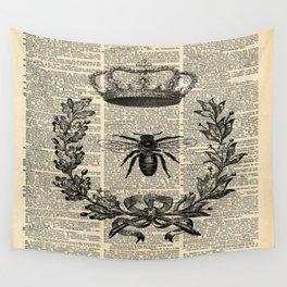 Paris french  garden farmhouse beekeeper honey bee queen Wall Tapestry