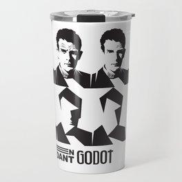 Samuel Beckett-En attendant Godot-Waiting for Godot Travel Mug
