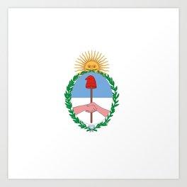 flag of Jujuy Art Print