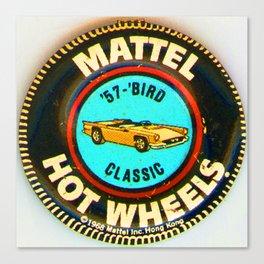 Hot Wheels '57 Bird Classic Canvas Print