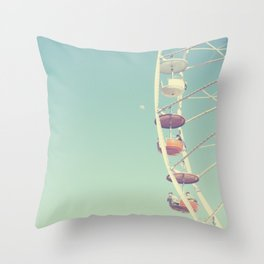 Touch the Moon Throw Pillow