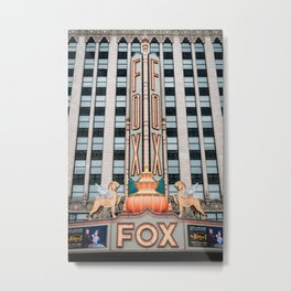 The Fox Theater Metal Print