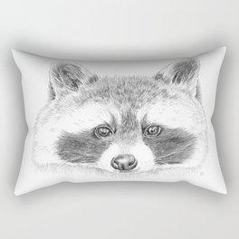 Cheeky Raccoon Rectangular Pillow