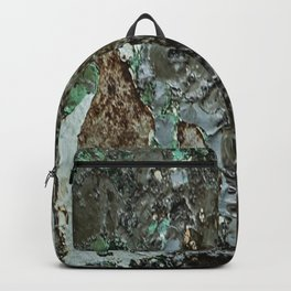 Weathered Iron rustic decor Backpack