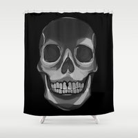 dead Shower Curtains featuring dead. by Kate Pasino