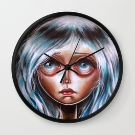 Wisp :: Pretty Little Scamp Pop Surrealism Wall Clock