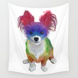 Small Dog Wall Tapestry