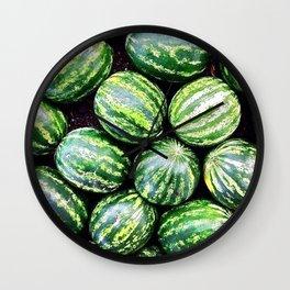 Melons Wall Clock