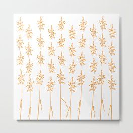 Grass that tickles Metal Print