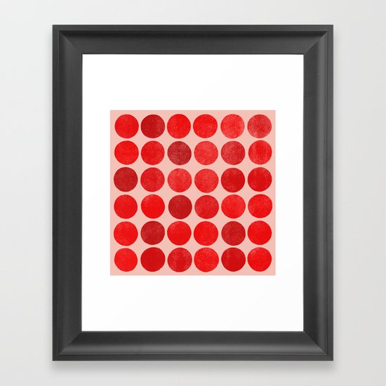 colorplay 12 sq Framed Art Print