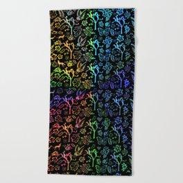 Joshua Tree Arco Iris by CREYES Beach Towel