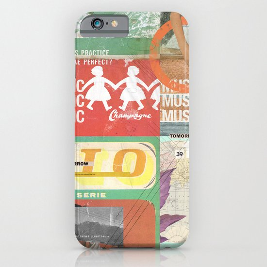 Music, Music, Music iPhone & iPod Case