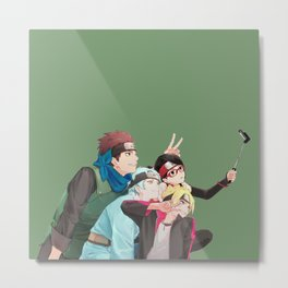 Boruto and Friend Metal Print