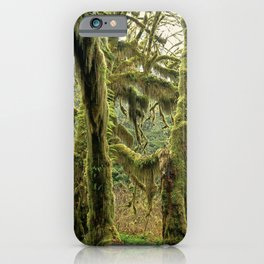 Hall Of Mosses iPhone Case