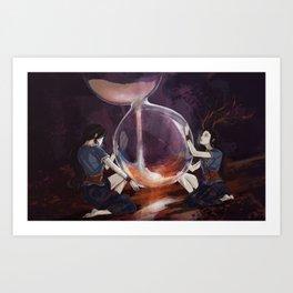 Seers Isle: Hourglass Art Print
