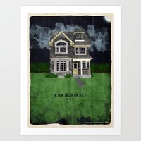 Abandoned...or is it?  Art Print