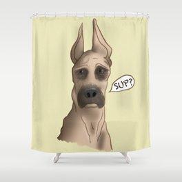 Great Dane: SUP? Shower Curtain