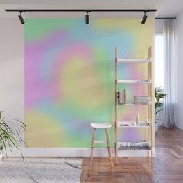 Soft Pastel Rainbow Gradient Design! Wall Mural