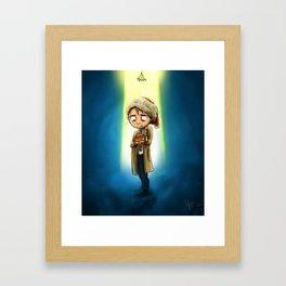 A Destiel Christmas Framed Art Print