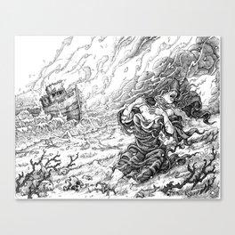 Providence Derelict Canvas Print