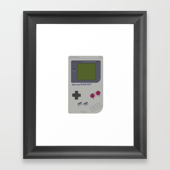 Nintendo Game Boy Framed Art Print