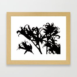 nerine Framed Art Print