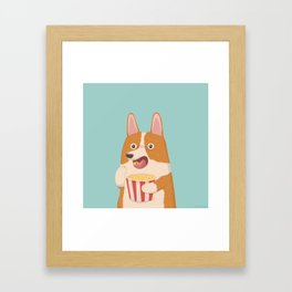 Mindless Snacking Framed Art Print