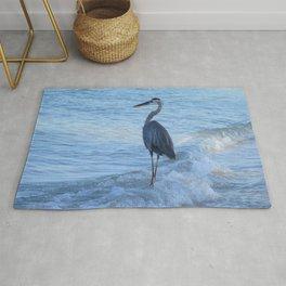 Oceans Great Blue Heron Rug