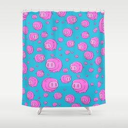 When Pigs Fly, Or Float! Shower Curtain