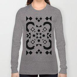 Radial Pattern I Long Sleeve T-shirt