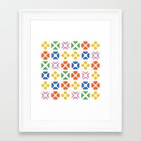 matisse Framed Art Prints featuring 13. Matisse by Chris Day