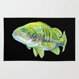 Goliath Grouper Rug