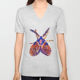 Drain Fly Inverted Unisex V-Neck