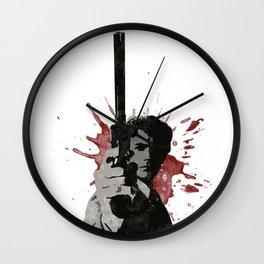 Dirty Harry Wall Clock