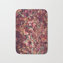 Pink Autumn #photography Bath Mat