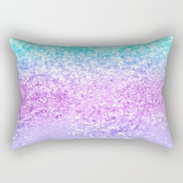 Unicorn Girls Glitter #9 #shiny #decor #art #society6 Rectangular Pillow