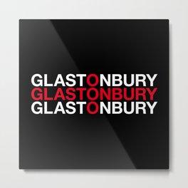 GLASTONBURY Metal Print