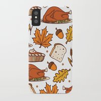 thanksgiving iPhone & iPod Cases featuring thanksgiving by Ceren Aksu Dikenci