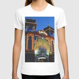 Luna Park at Night Fall T-shirt