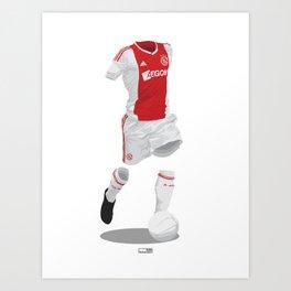 Ajax 2012/13  Art Print