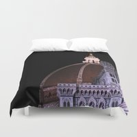 florence Duvet Covers featuring Florence by Anya Kubilus