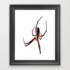 spider from mars Framed Art Print