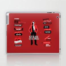 Stiles Stilinski Quotes Teen Wolf Laptop & iPad Skin