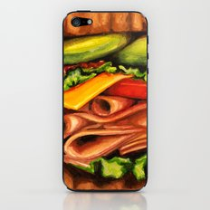 Sandwich- Turkey Bacon Avocado iPhone & iPod Skin