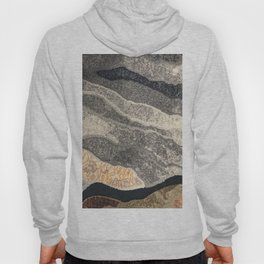 Elegant Black and Gray Pattern Hoody