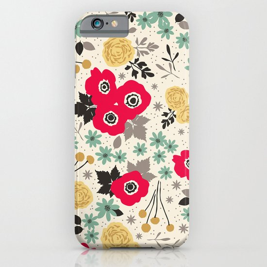 Blumen iPhone & iPod Case