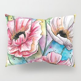 Iceland Poppies Pillow Sham