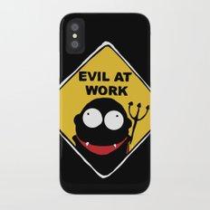 Evil at Work Slim Case iPhone X